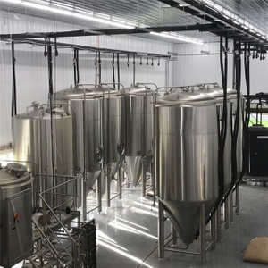 10BBL Beer Fermentation Tank Double Wall Isobaric Conical Fermenter / Unitank na prodej